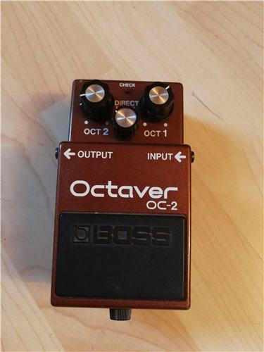Boss OC-2 Octaver Bodeneffektgerät