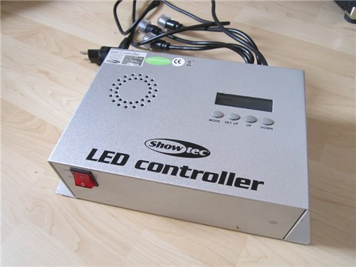 ShowTec LED Tube Lichtanlage komplett