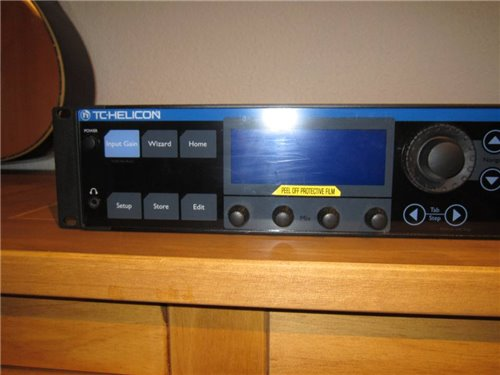 TC-Helicon Voice Live Rack